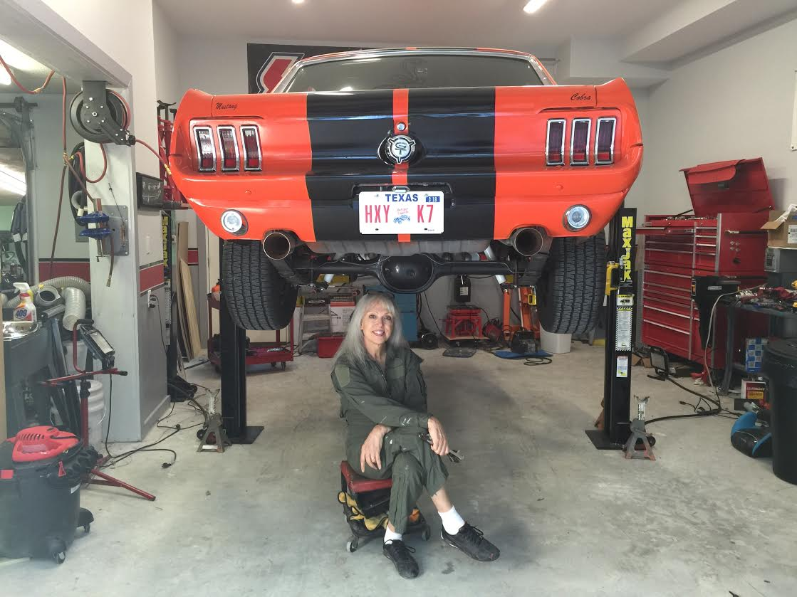 Home Garage Car Lift >> 67 Mustang coupe exhaust tips | Classic Cars and Tools